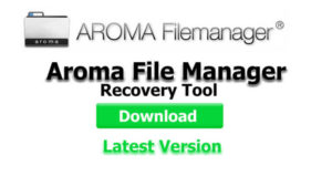 Télécharger aroma file manager recovery tool