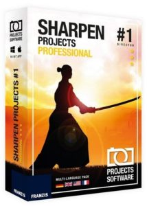 Franzis SHARPEN Projects 3 Professional 3.31.03465  full version 2019